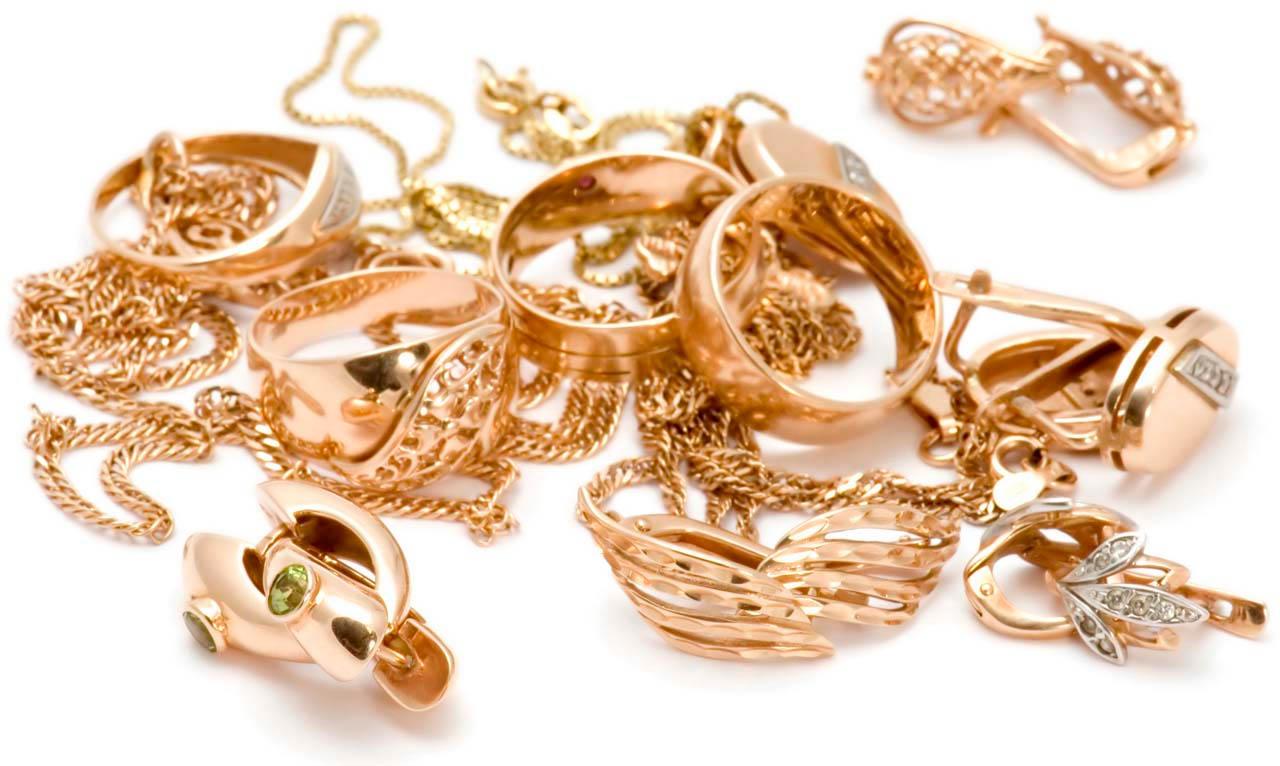 Красивые фото золотых украшений