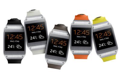 Классика плюс инновации – наручные часы  Samsung Galaxy Gear