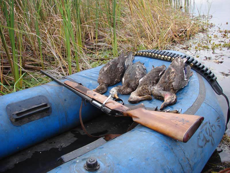охотник и рыболов чучело