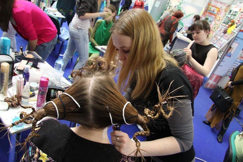 Конкурсы на парикмахерский искусства